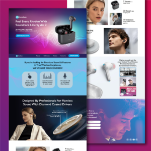 Tech Product Landing Page