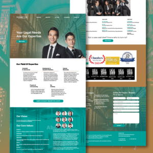 Legal Firm Landing Page